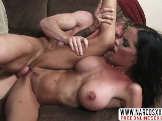 Smiling Stepmom Brandy Aniston Lets Best Cock