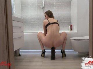 ANAL Orgasmus Rausch 40cm wie geil