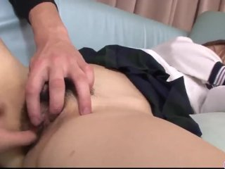 Noriko Kago schoolgirl porn in Japanese home video