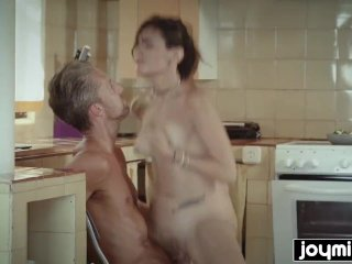 Joymii fucking my stepdaughter Penelope Cum after school
