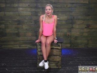 Slave gets punished d gangbang bondage xxx