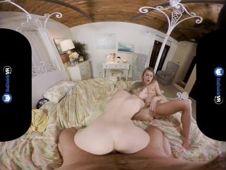 BaDoinkVRcom Best Squirting Threesome With Adriana And Kimmy