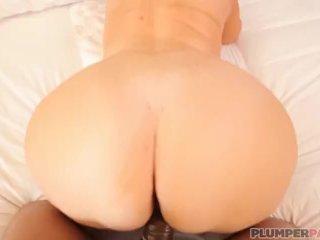 BBW Legend Samantha 38G Swallows Big Black Cock