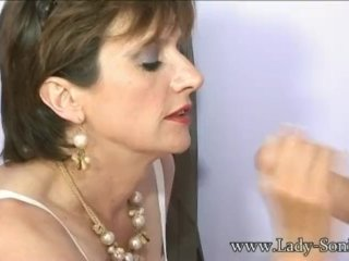 Lady Sonia Suck Cock At Lingerie Shop Gloryhole