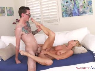 Fuck Me Son, I Want Your Cock, Hot Mom Amber Lynn