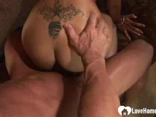 Naughty Blonde Cannot Have Enough Of His Bbc