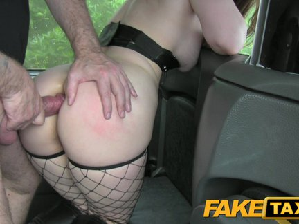 fake taxi sexy customer underwear fetish