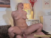 DaneJones Cute blonde enjoys attentive lover