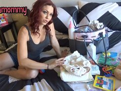 ABDL Mommy on video diaper punishment ageplay