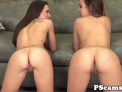 Webcam leso Dillion Harper with Kharlie Stone