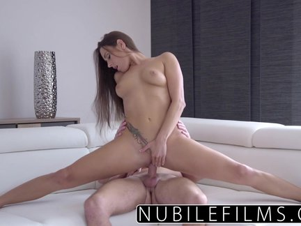 nubilefilms- hardcore creampie for young babe