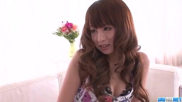 Smashing hardcore along superb Hazuki Okita
