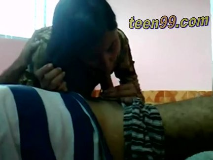 desi indian lovers having fun in a village room – teen99*com – indian chudai
