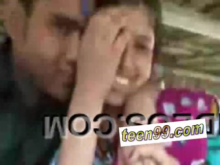 indian village woman kissing boyfriend in outdoor scandal – teen99*com – indian chudai