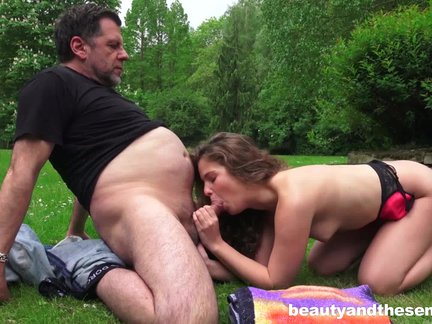 sweet slut bunny gets penetrated outdoors by senior philippe xxx.harem.pt