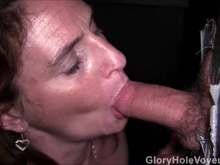 Real Gloryhole Milf Compilation...
