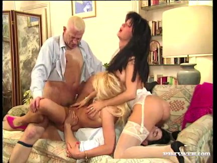the tower – orgy with channone and monikat