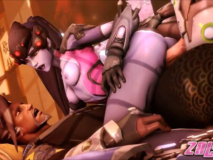 overfuck widowmaker compilation