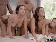 BLACKED Abella, Karlee and Keisha Share BBC's