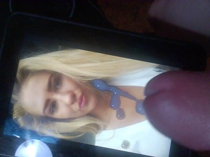 cumtribute for blonde