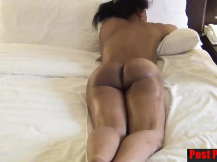 Fell On Net Hot Black Naked Displays Big Butt